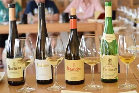 Alvarinho Wines from Quinta de Soalheiro