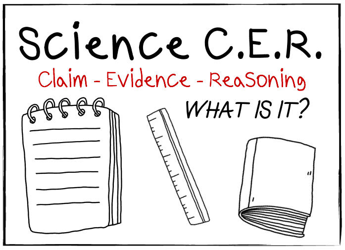 Claim Evidence Reasoning: Using the C.E.R. Model for