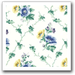 Floral Vintage Wallpaper Borders