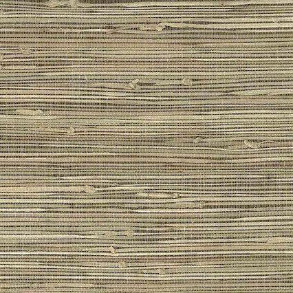 Beige Grasscloth Natural Wallpaper, textured, medium beige