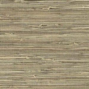 Beige Grasscloth Natural Wallpaper 147-89472 Double Rolls