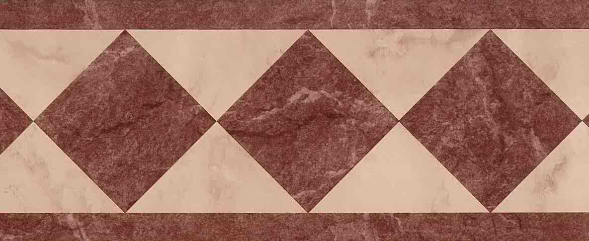 pink marble vintage wallpaper, faux finish, maroon-brown, geometric, diamonds, triangles, contemoraru, modern, arts & crafts