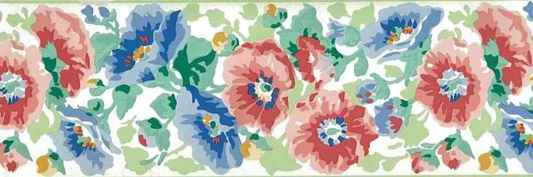Laura Ashley Floral Vintage Wallpaper Border