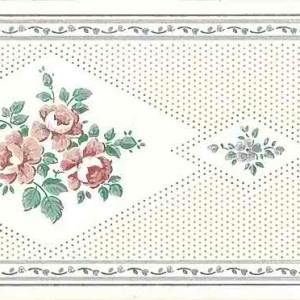 Cream Sampler Vintage Wallpaper Border AW3194 FREE Ship