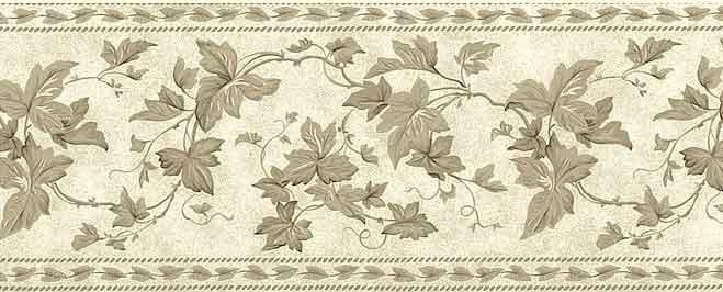 Waverly Ivy Vintage Wallpaper Border Vines 570670 Free Ship