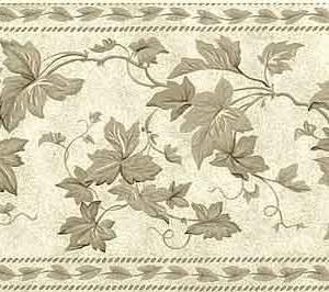 Waverly Ivy Vintage Wallpaper Border Kitchen Vines 570670 FREE Ship