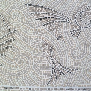 Mosaic Tile Vintage Wallpaper Border Bathroom Gray NR1001B FREE Ship