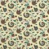paisley vintage wallpaper floral, teal, rose, lavender, cream, floral, stylized flowers