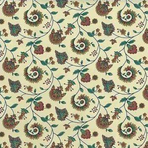 Paisley Vintage Wallpaper Floral Rose Teal Lavender KET8023 D/Rs