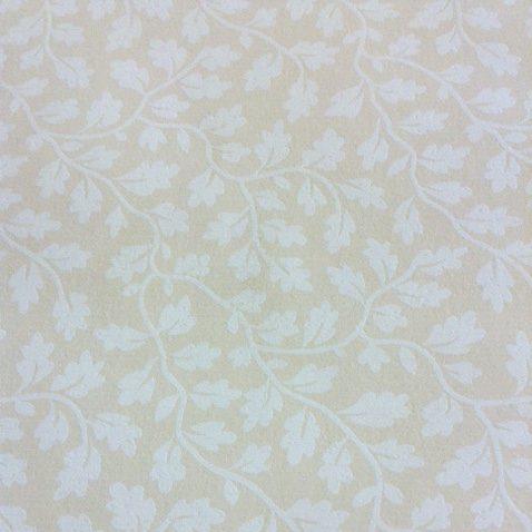 white leaves vines,beige,wallpaper,Antonina Vella