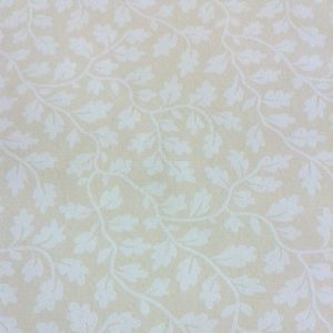 White Leaves Vines Wallpaper Beige Cottage Antonina Vella VB6776 D/Rs