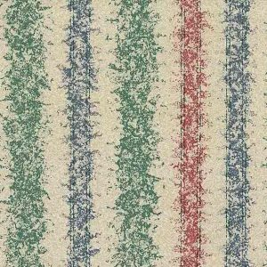 Textured stripes vintage wallpaper, red, blue, green, beige, textured, glazed