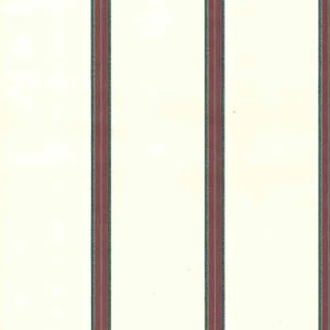 Red Striped wallpaper, green, blue, cream
