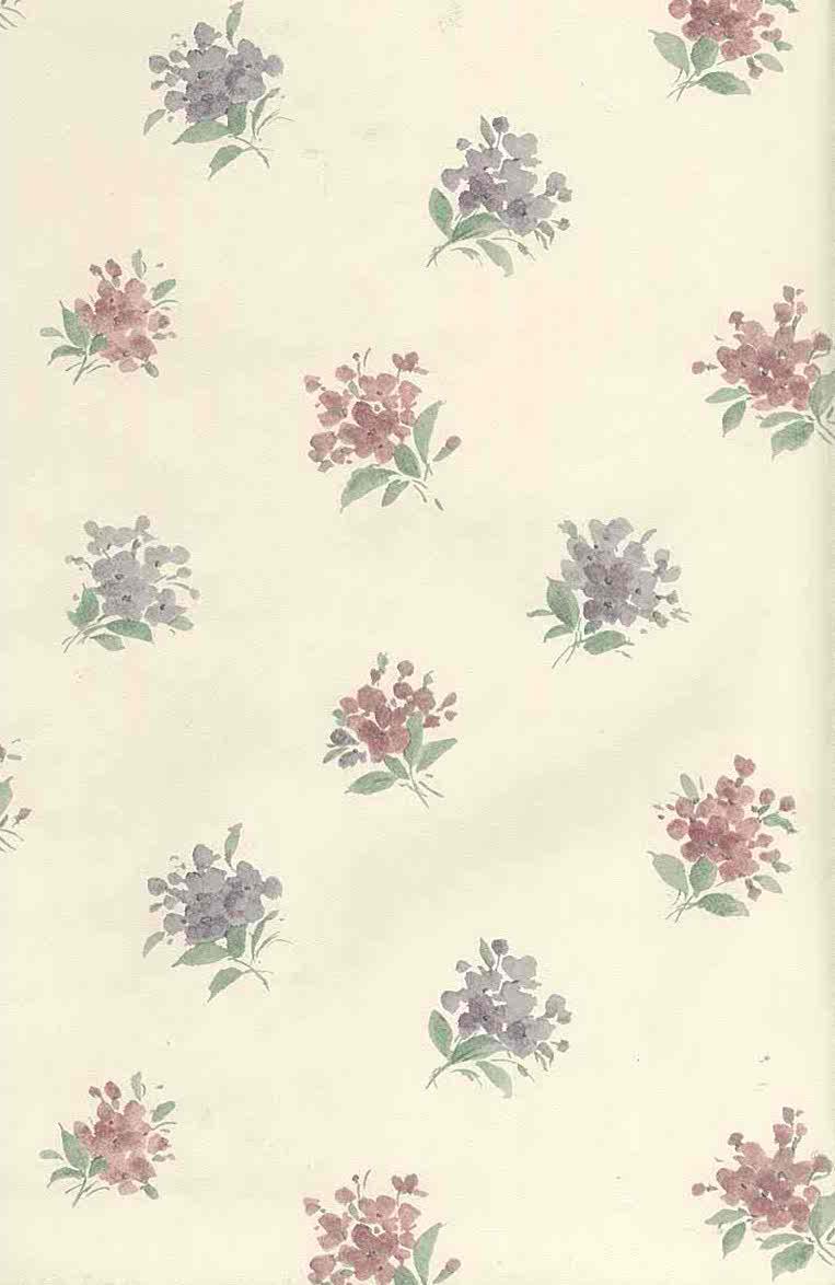 Victorian Vintage Wallpaper Floral Nosegays Lavender 56640633 D Rs