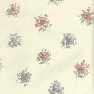 Victorian Vintage Wallpaper Floral Nosegays Lavender 56640633 D/Rs