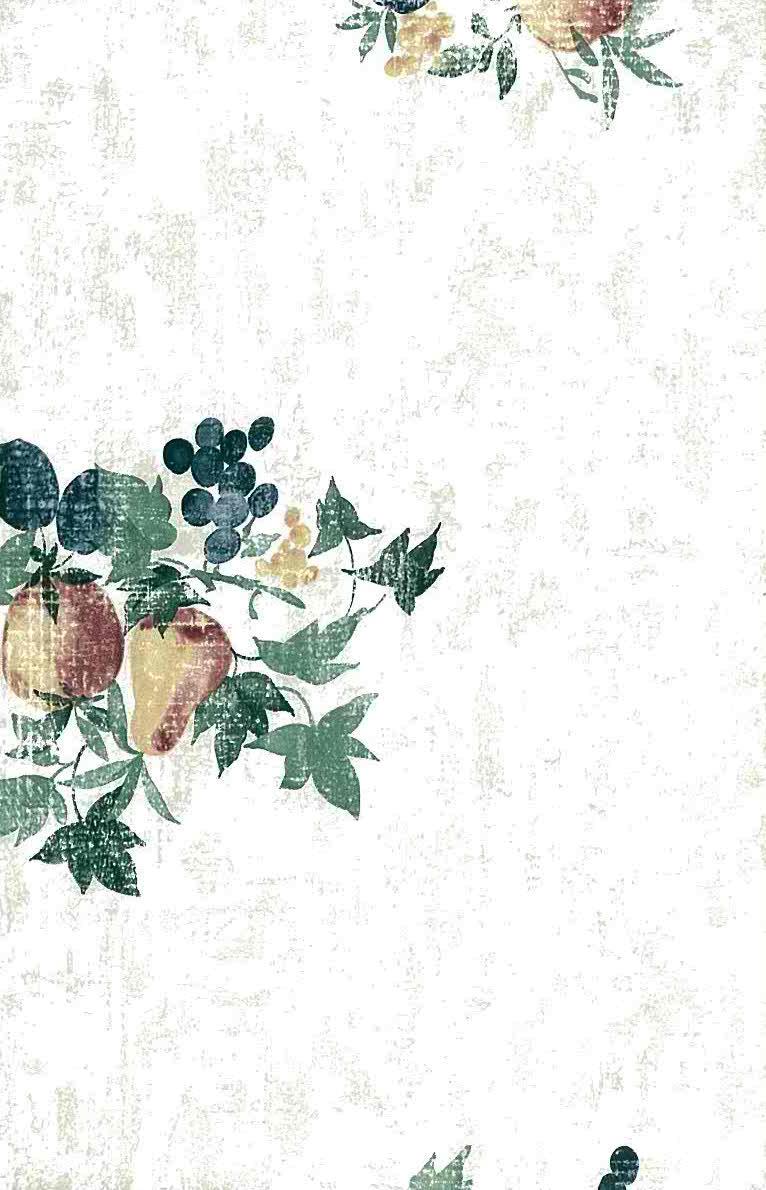Purple And Black Damask Wallpaper Fruit Ivy Wallpaper Kitchen Green Blue Matching Border