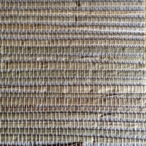 Wallpaper Gray Grasscloth Natural Beige Textured HY30273 Double Rolls