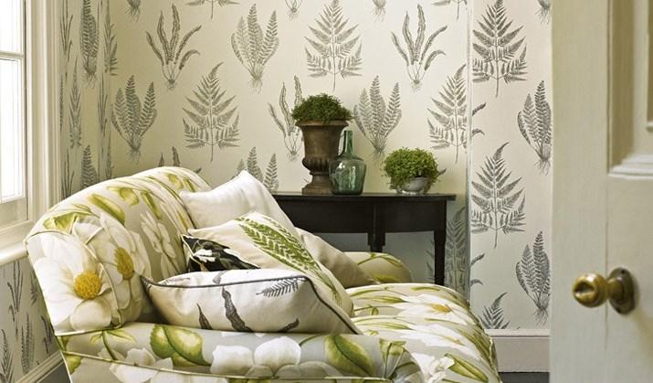 wallpaper helps ease stress, relax, yoga, blue, green, tropical, murals, sunset, waterfall