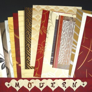 Modern Wallpaper Crafts Samples Scrapbooking 17 Sheets FREE Ship