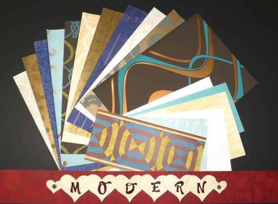 Modern / Contemporary Craft & Scrapbooking Wallpaper Pak Example