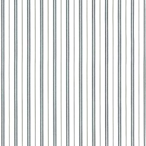 Navy Gray Striped Vintage Wallpaper Narrow Stripes 883-3788 D/Rs
