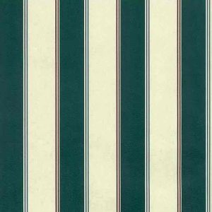 Green Cream Stripe Vintage Wallpaper Blue Red AMD1222 D/Rs