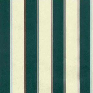 Green Cream Stripe Vintage Wallpaper Blue Red AMD1222 D/Rs
