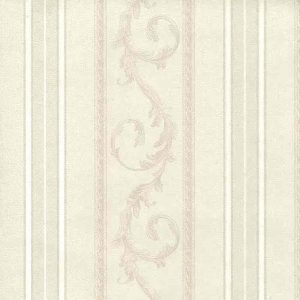 Cream Striped Swirl Wallpaper Textured Italy 946.71812.C D/Rs