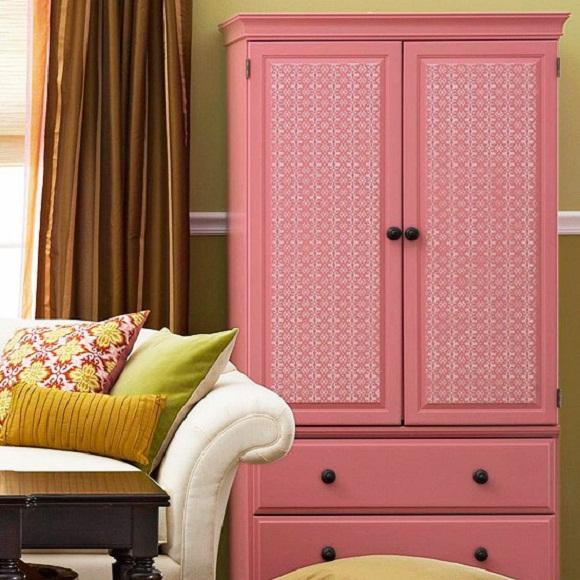 Wallpaper Transforms Furniture