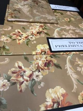 York Wallcoverings Archives, fabric, wallpaper