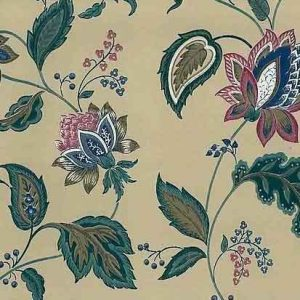 Jacobean Floral Vintage Wallpaper Paisley Taupe 585062 D/Rs