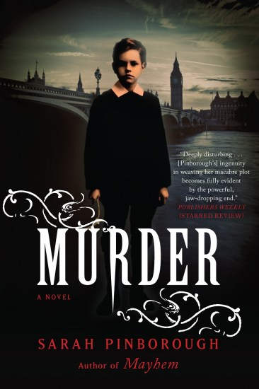 Ominous October – Murder (Mayhem #2) by Sarah Pinborough