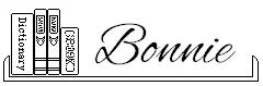 bonnie blog signature