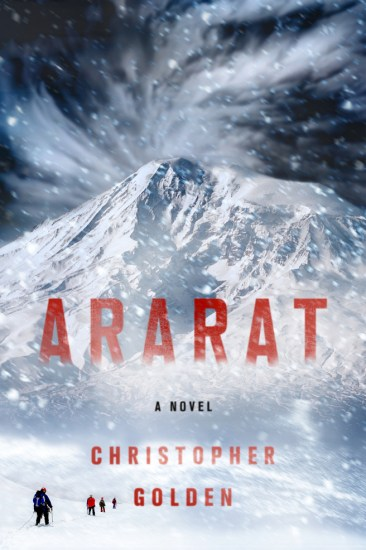 Waiting on Wednesday – Ararat by Christopher Golden
