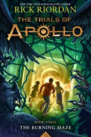 Waiting on Wednesday – The Burning Maze (The Trials of Apollo #3) by Rick Riordan