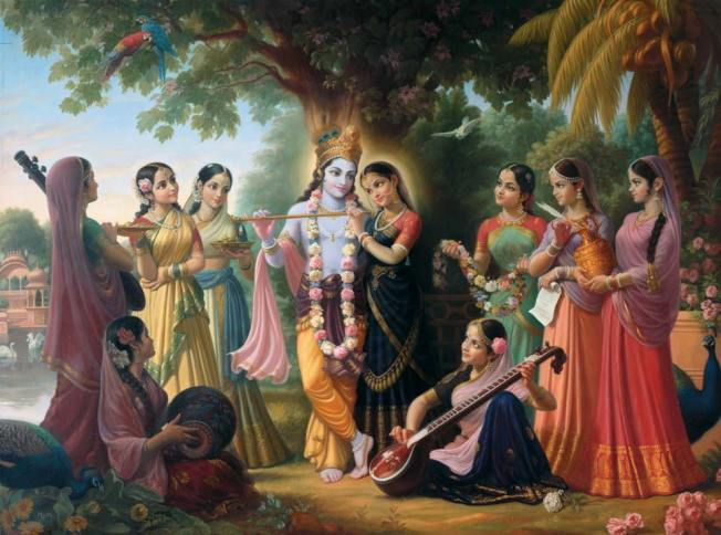 Gopis-of-Vrindavan