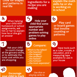 5+ Ways Parents Can Help with Math