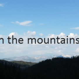 Writing Prompt for August 11: Mountains