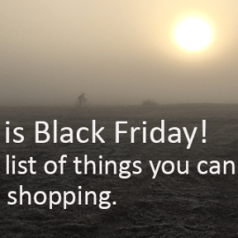 Writing Prompt for November 25: Black Friday