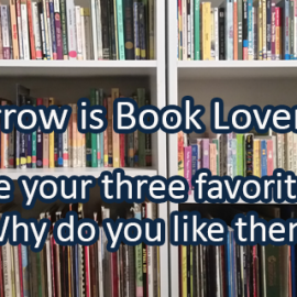 Writing Prompt for November 6: Book Lovers Day