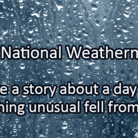 Writing Prompt for February 5: Weatherman's Day