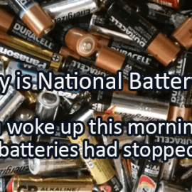 Writing Prompt for February 18: Battery Day