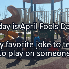 Writing Prompt for April 1: Jokes