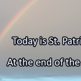 Writing Prompt for March 17: St. Patrick's Day!