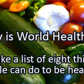 Writing Prompt for April 7: Health
