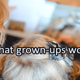 Writing Prompt for April 15: Grown-Ups