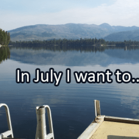 Writing Prompt for July 2: July