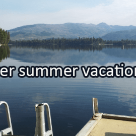 Writing Prompt for June 12: Summer Vacation