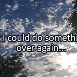 Writing Prompt for July 19: Over Again
