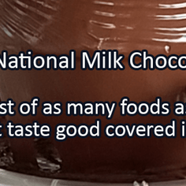 Writing Prompt for July 28: Chocolate!